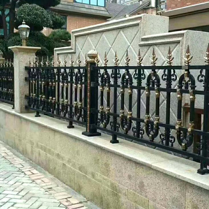 漳州高档庭院铁艺护栏  漳州阳台栏杆按装  铝艺阳台护栏厂家