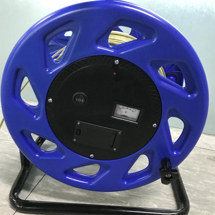 100米便携式大量程水位计 手动钢尺电缆水位测量计