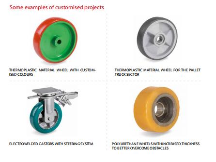 汽车工业脚轮TR品牌 专业生产线脚轮 TR品牌万向轮 定向轮型号