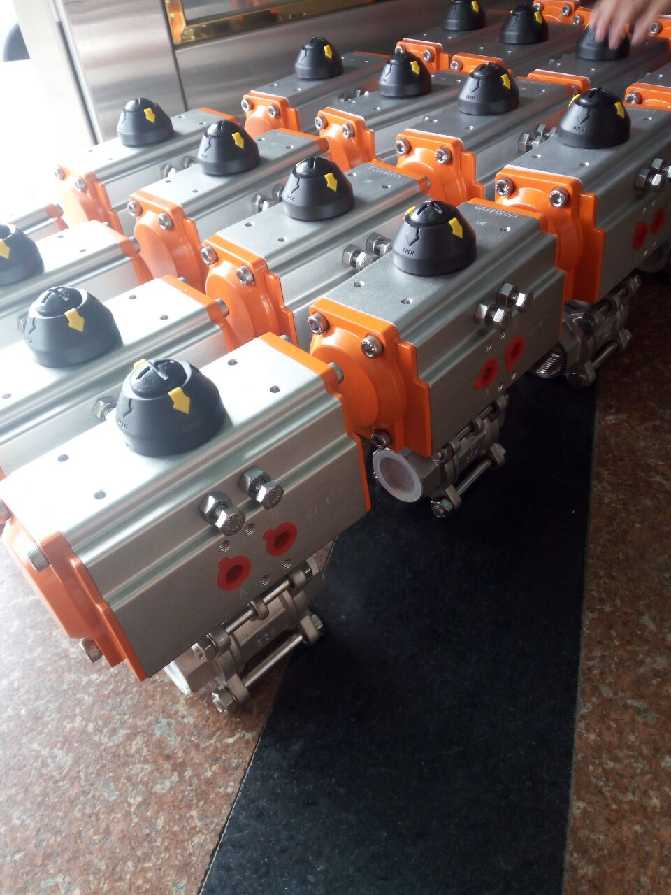 气动球阀厂家 气动法兰球阀 气动不锈钢球阀