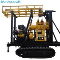HZ-200D履带自走电话 大口径打井机 车载地质勘探钻机 深孔水井钻机电话 山东深孔水井钻机厂家直销