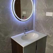 洗漱镜智能镜子led浴室镜壁挂卫浴镜卫生间洗手间防雾灯镜带蓝牙触摸屏批发