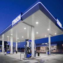 中海加油站圆角铝包柱_户外包柱圆角铝材_加油站改造圆角铝包柱/规格改寸与构造