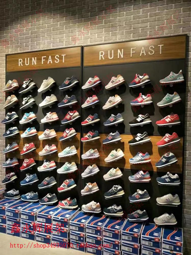 专卖店鞋架运动鞋展示架 运动鞋货架 鞋货架 鞋架 鞋子展示架