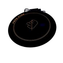 赣州酒店餐饮用品设备328圆黑晶火锅3000W电陶炉