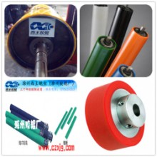 硅胶辊筒_橡塑合金胶辊 硅胶橡胶辊筒 非标杂件包胶滚筒批发