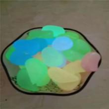 灵寿厂家供应 树脂石 夜光鹅卵石 夜光石 各种颜色图片