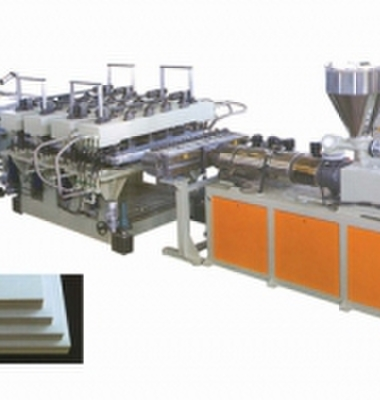 结皮发泡板生产线图片/结皮发泡板生产线样板图 (1)