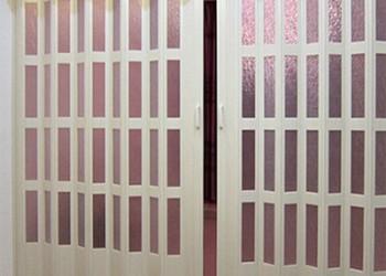 pvc折叠门图片