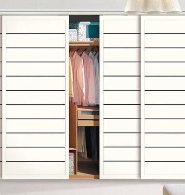 百叶板衣柜门图片/百叶板衣柜门样板图 (3)