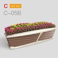 户外景观花箱 材质 颜色 用途 万德福垃圾箱厂家