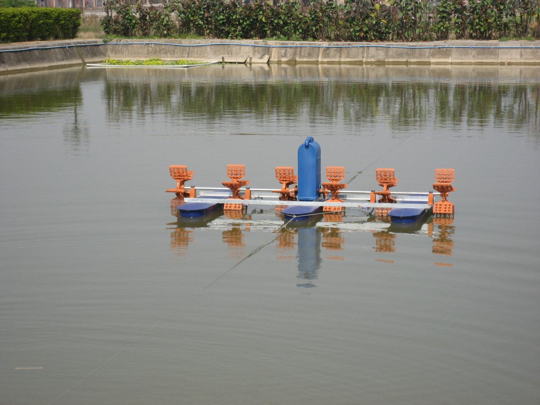 单相220V750W虾蟹塘养殖水车式增氧机   水车增氧机-02