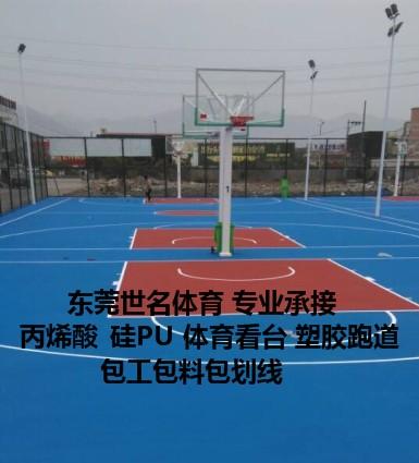 篮球场地坪漆图片/篮球场地坪漆样板图 (3)