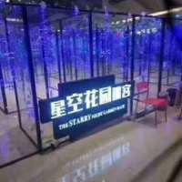 星空花园迷宫镜像灯光互动暖场活动