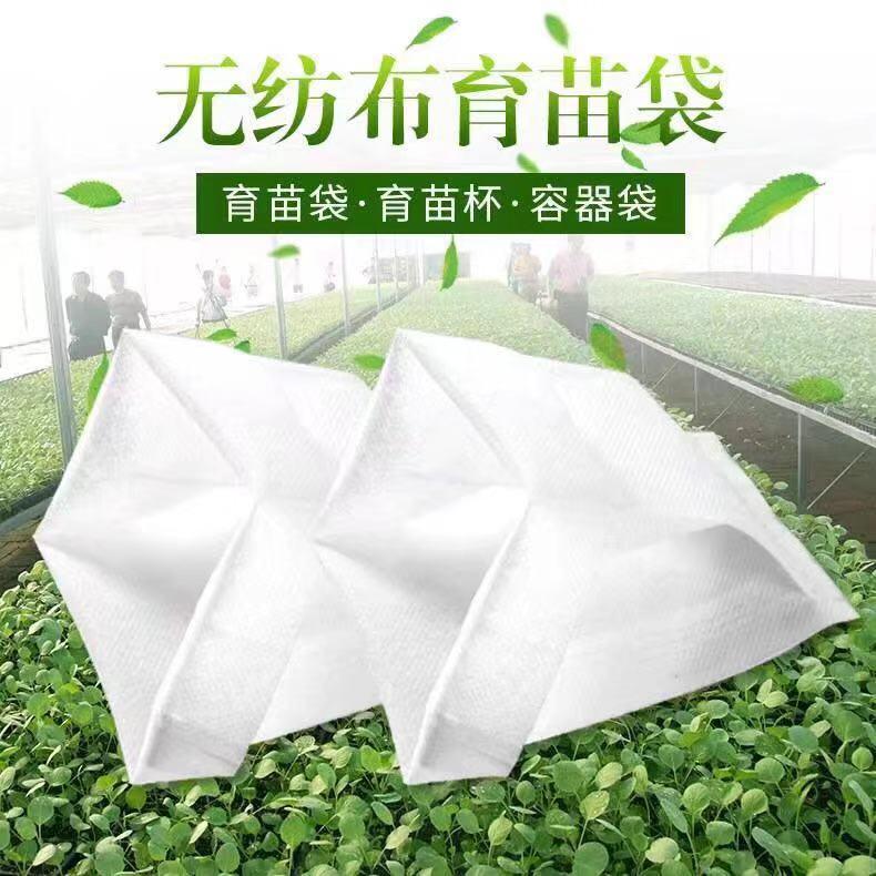 厂家各种规格定制无纺布育苗容器
