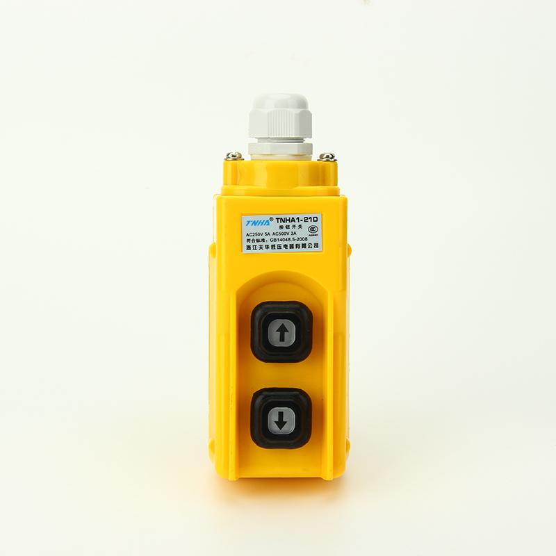 厂家TNHA1-21D TNHA1-21D行车按钮开关 吊车卷扬机按钮 防雨型行车起重机按钮