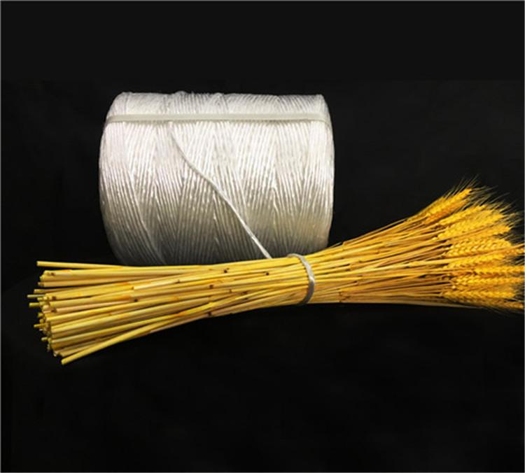安徽埇桥区供应稻草秸秆中方捆3道绳打包绳造纸厂打捆绳配套华德打捆机专用