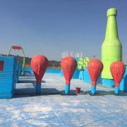 邢台支架泳池图片