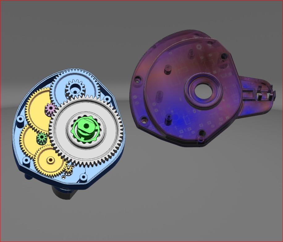 齿轮箱设计与控制电路设计