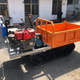 厂家直销四不像自卸自走式履带翻运输拖拉机