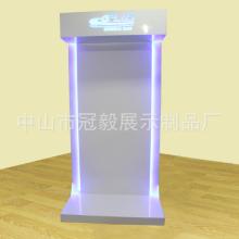 专业批发 商品陈列展柜 高档空调展示架背柜 LED发光展示柜 挂墙空调展示柜
