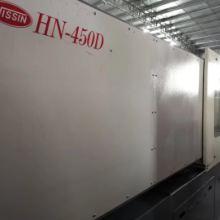 深圳二手注塑机隆亨450T吨伺服2014年未使用过机况全新价格便宜隆亨注塑机450吨