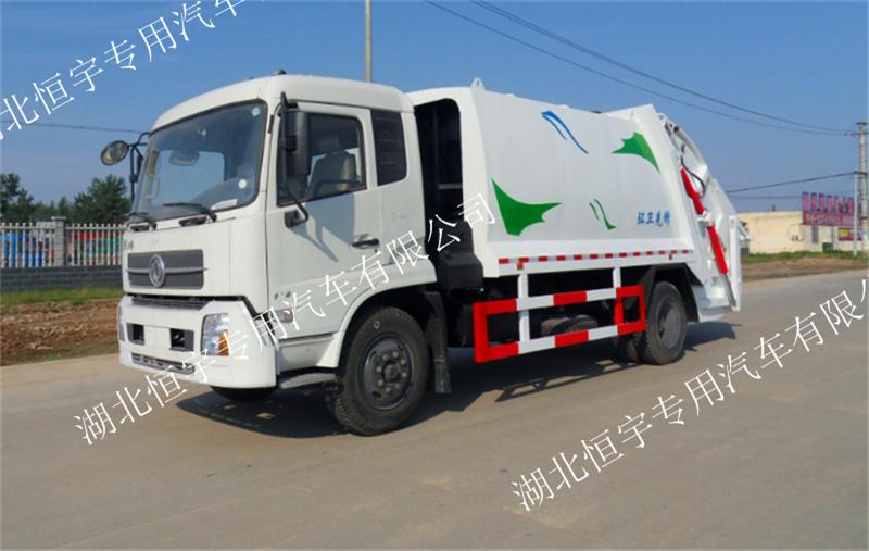 东风天锦压缩式垃圾车16吨压缩式垃圾车箱体容积10至14立方厂家直销