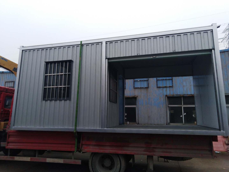 杭州萧山集装箱门禁房工地值班室保安室岗亭,厂家生产加工批发出售