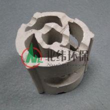 陶瓷车轮环 陶瓷车轮环反应塔填料  陶瓷车轮环北纬环保供应批发