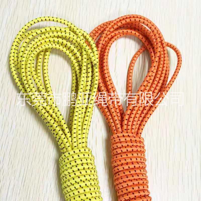 生产2.5mm-8mm圆橡筋绳 弹力绳 涤纶绳 松紧绳