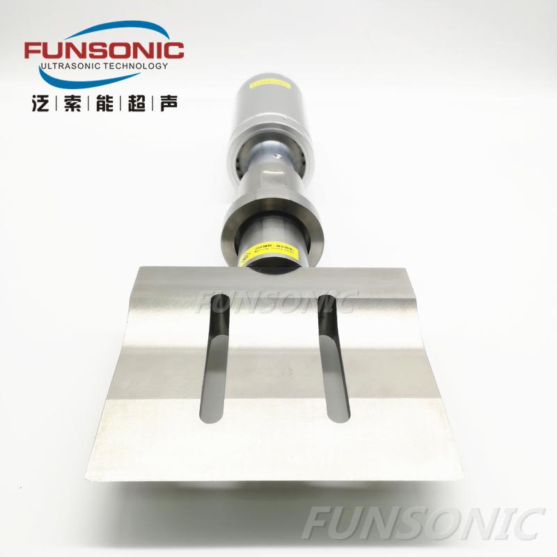 20K超声波橡胶切割刀150MM 超声波橡胶切割/塑料切割  流水线/生产线机械手专用 刃宽150MM