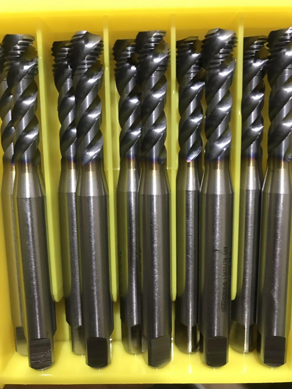 进口二手螺旋丝锥、德国进口螺旋丝锥温州供应商、型号有:M2——39