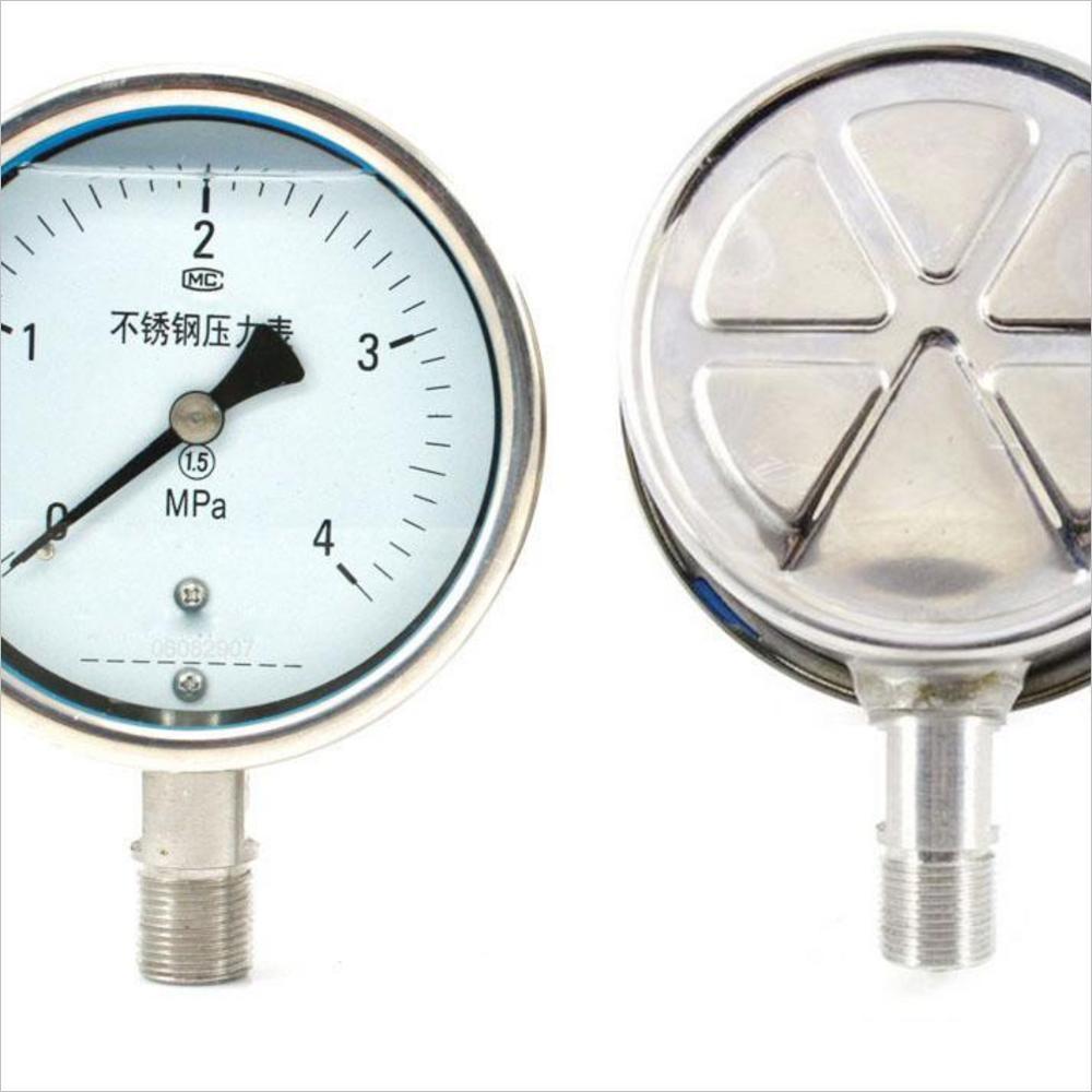 YTS-系列耐酸不锈钢压力表-江苏耐酸不锈钢压表报价-浙江耐酸不锈钢压表批发