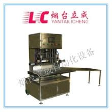 山东立成化工液体定量加料计量设备二甲苯自动分装灌装包装机