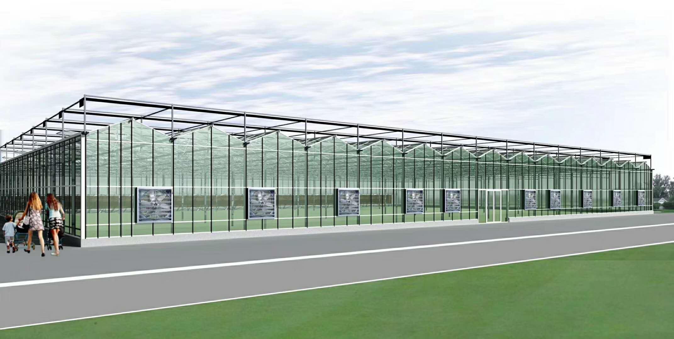 山东温室大棚 玻璃温室 温室骨架