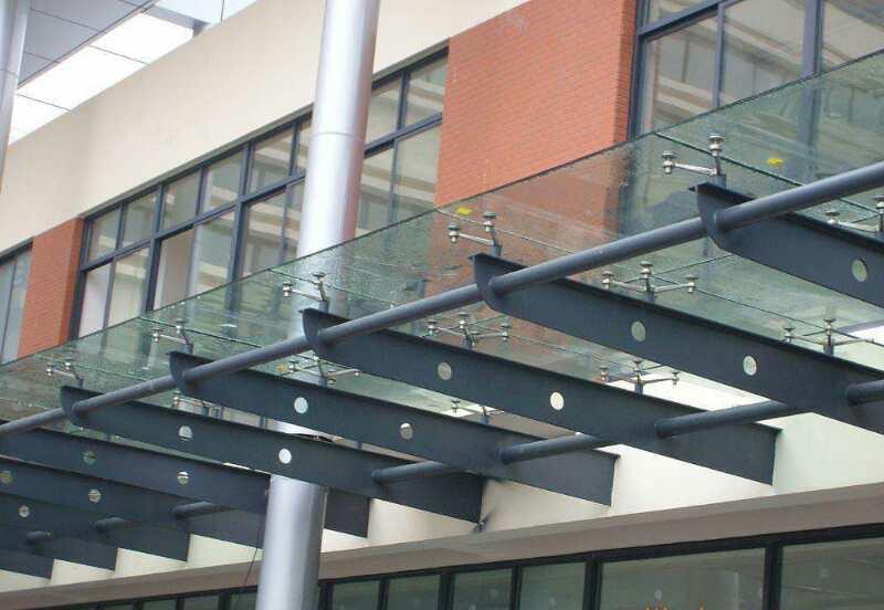 玻璃雨棚供应商安装价格 上海篷凯膜结构公司13739165677