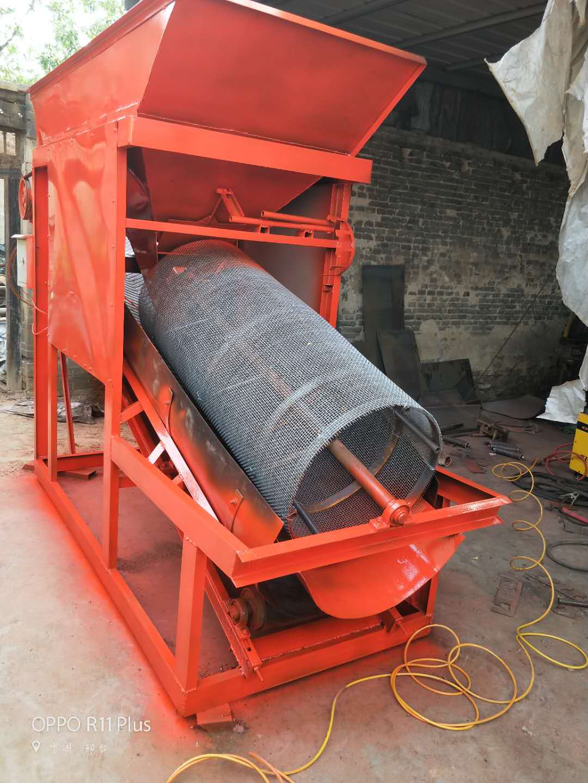 定制30型自动滚筒筛沙机  30可移动滚筒筛沙机  沙场专用30筛沙机