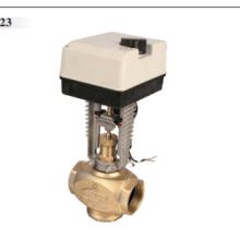 埃美柯 流量调节电动温控阀厂家批发 武汉电动温控阀9623报价