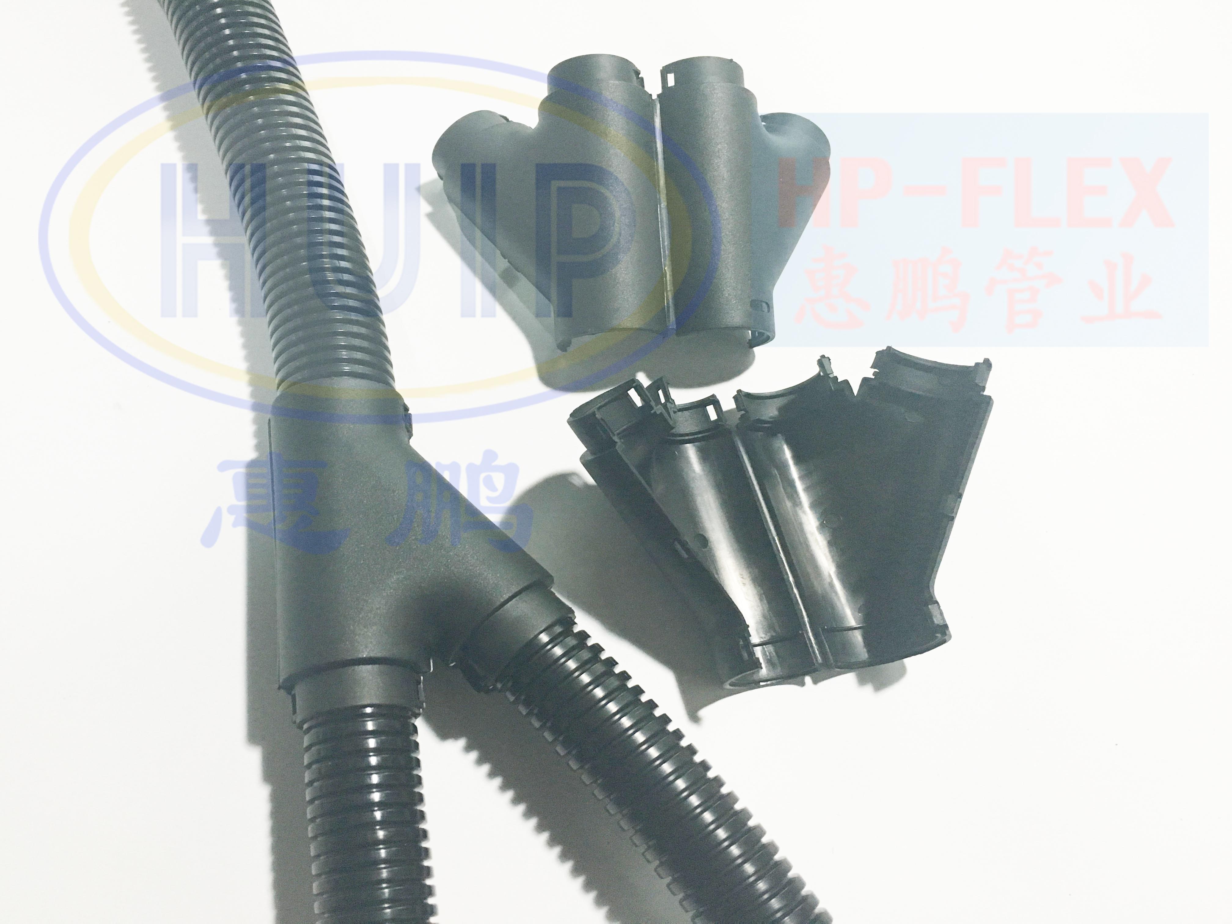 厂家直销SVY三通接头SVY21-13-13Z直插式博文股分流系统