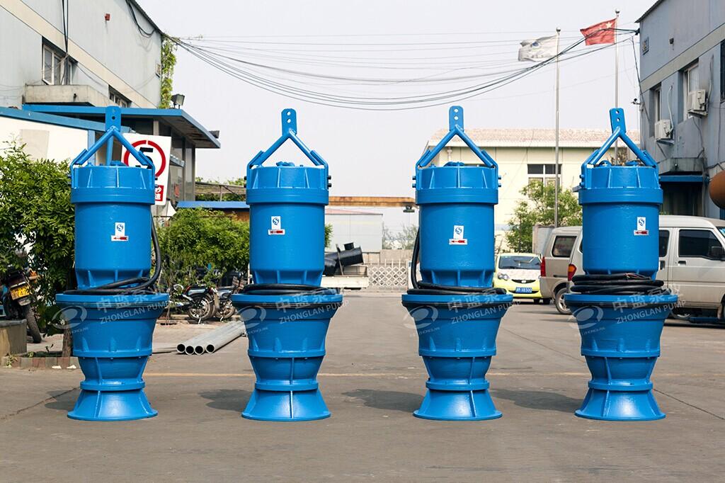 井筒式潜水轴流泵性能 井筒潜水轴流泵 雪橇式轴流泵
