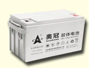 奥冠12V蓄电池厂家
