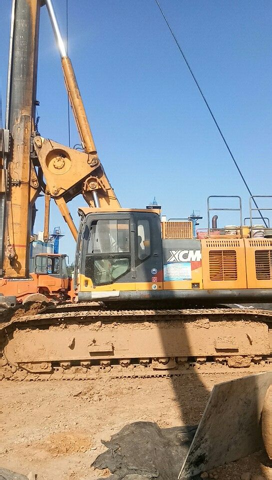 出租安庆徐工360钻机,教你快速维修旋挖机