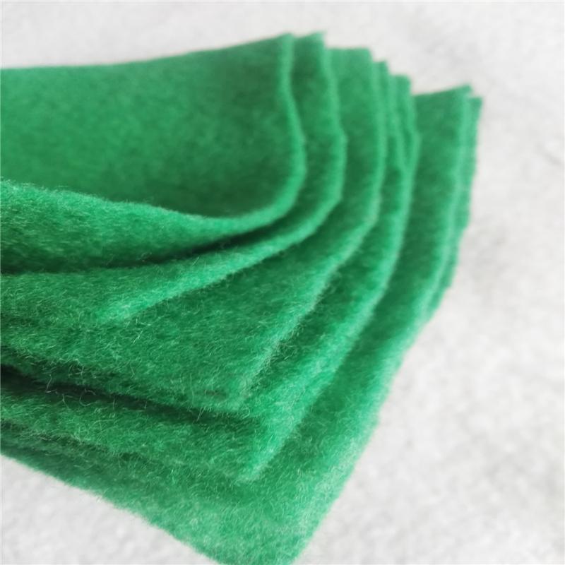 防尘100g草绿色土工布价格