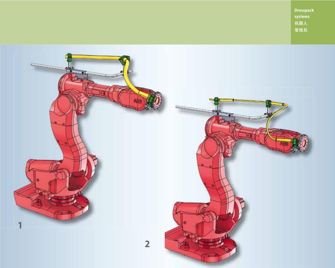 莱尼LEONI管  莱尼LEONI机器人黄色光滑管线包DPS0004
