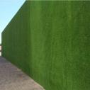 工地围墙假草皮 绿化草皮围挡图片