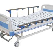 医用病床单摇护理床图片