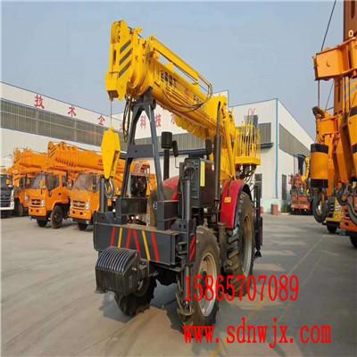 山东烟台拖拉机吊车生产厂家 拖拉机吊车价格 拖拉机吊车图片