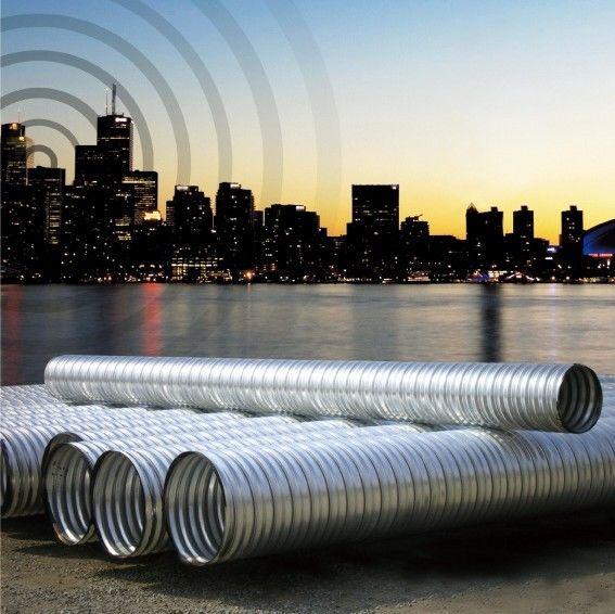 呼和浩特钢管涵内蒙镀锌波纹钢管涵洞管螺旋波纹钢管厂家直销