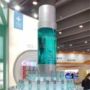 玻璃钢透明化妆瓶雕塑图片