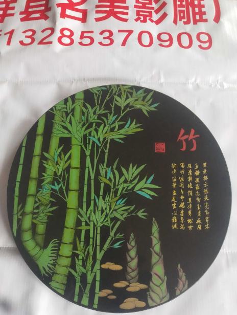 影雕石影雕梅兰竹菊适用于家居摆件工艺品礼品纯手工制作